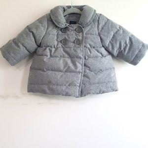 Baby Gap Pea Coat Puffer Coat 0-6 Months